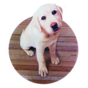 Tapis de souris informatique chiot labrador chien