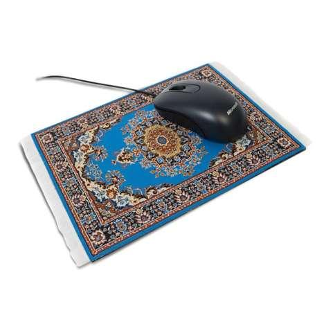 Tapis pour souris informatique style tapis d'orient