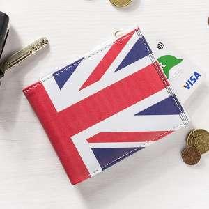 Portefeuille drapeau Royaume Uni - United Kingdom