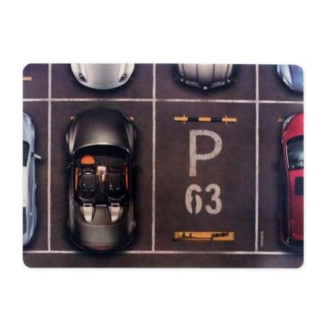 Tapis de souris informatique place de parking