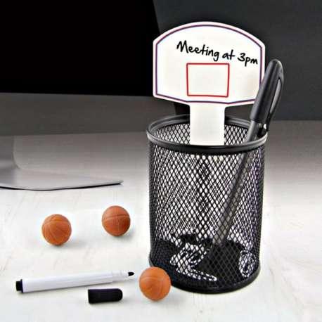 Kit de jeu de basketball de bureau papeterie avec jeu miniature