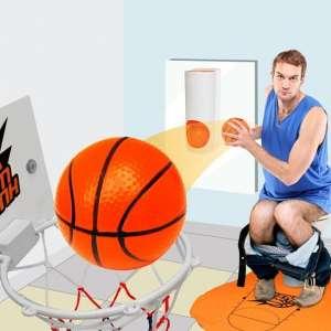 Panier de basket pour toilettes