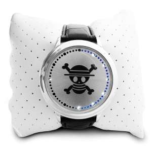 Montre LED tactile tête de mort one piece original