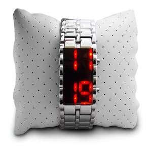 Montre numérique Affichage LED rouge