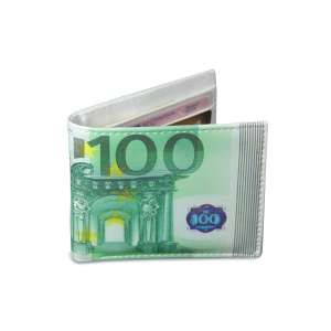 Portefeuille billet de 100 euros