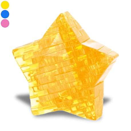 Puzzle 3D effet crystal étoile