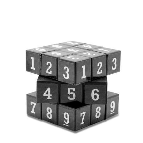 Jeu cube sudoku magique Casse-tête