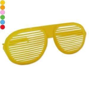 Paire de lunettes de déguisement XXL striées