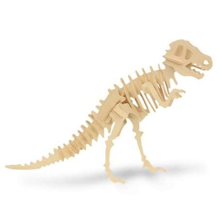 Puzzle en bois squelette de dinosaure