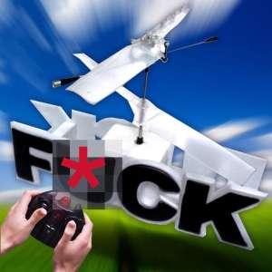 Hélicoptère télécommandé FUCK Radicommandé RC