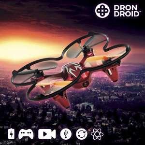 Drone caméra télécommandé avec 4 hélices de rechange, photo video