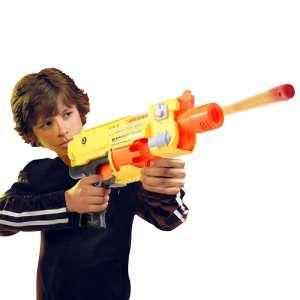 Mitraillette avec 20 balles en mousse pistolet