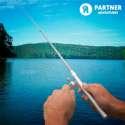 Mini canne à pêche télescopique de poche de voyage