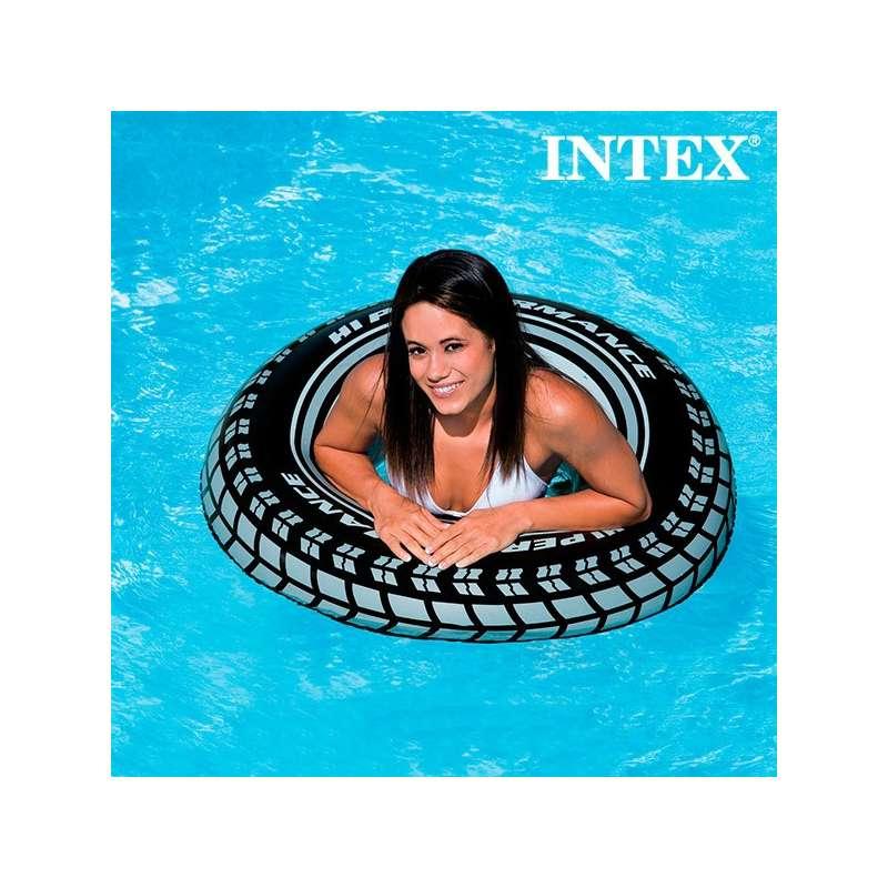 Pneu intex gonflable bou e ronde pour piscine et mer totalcadeau - Accessoire gonflable pour piscine ...