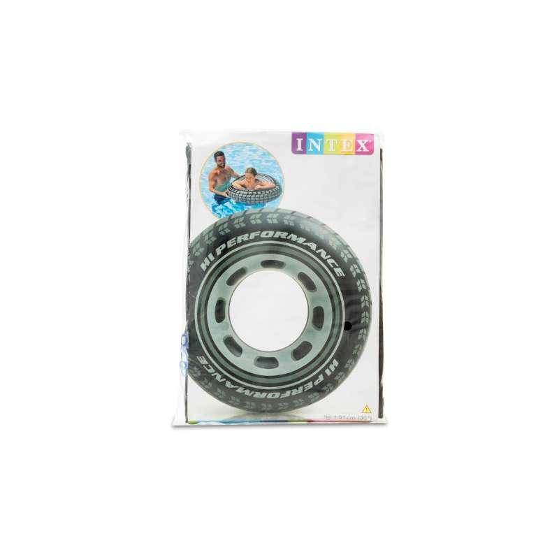 Pneu intex gonflable bou e ronde pour piscine et mer for Diametre exterieur pneu