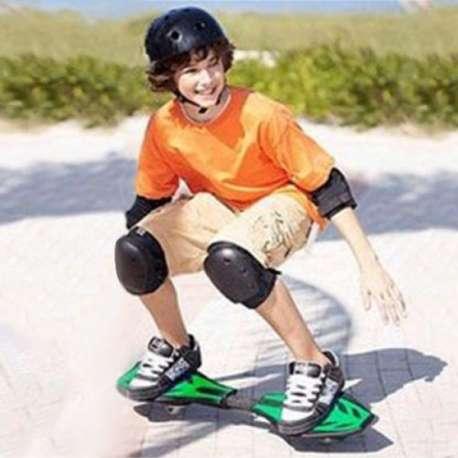 Casterboard skateboard boost 2 roues, 1 housse de rangement