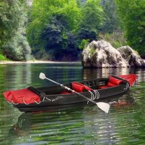 Canoë Kayak Gonflable 2 places avec 2 pagaies et accesoires