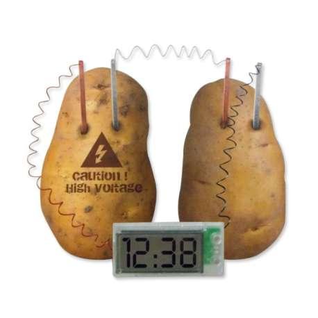 Kit pour réveil à énergie naturel pomme de terre ludique et pédago