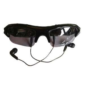 Lunettes solaires camera espion et lecteur MP3 espionne