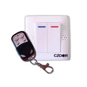 Faux interrupteur camera espion détection de mouvement télécomandé