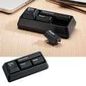 Kit accessoires bureau clavier : brossette, perforatrice, agrafeuse