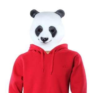 Masque tête de panda costume déguisement latex