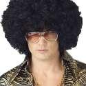 Perruque afro frisée noir