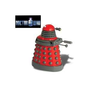 Figurine Dalek rouge animé Docteur Who