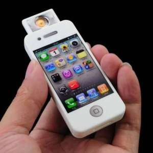 Briquet USB en forme d'iPhone