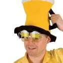 Lunettes chopes bière mousseux marrante costume déguisement