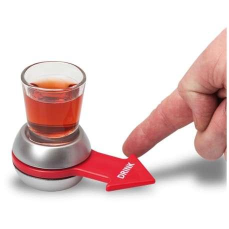 La flèche de la boisson plateau avec flèche, 1 verre
