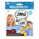 Ballon gonflable bulle de BD pour selfie