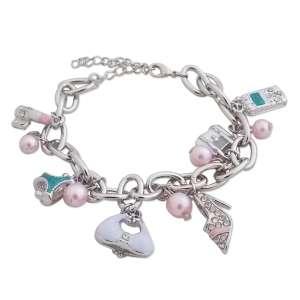 Bracelet aux accessoires de fille
