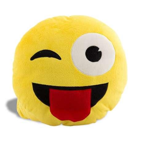 Coussin Smiley clin d'œil oreiller