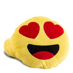 Coussin Smiley amoureux oreiller
