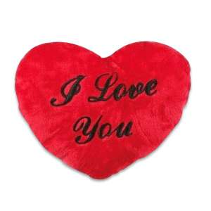 Peluche coeur i love you oreiller coussin