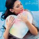 Coussin coeur LED en peluche oreiller veilleuse lumineux