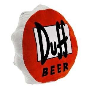 Oreiller coussin capsule Duff Beer d'Homer Simpson