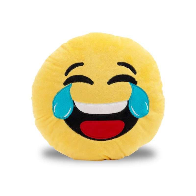 Coussin Smiley Pleure De Rire Totalcadeau
