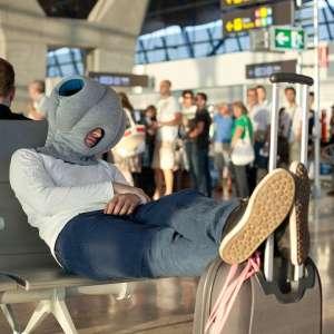 Oreiller zap nap portable avec porte mains coussin de voyage