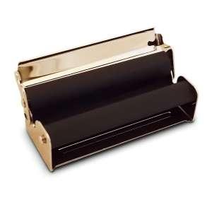 Rouleuse à cigarettes en métal argenté
