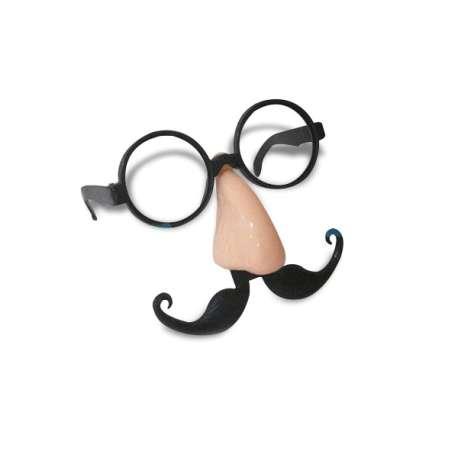 Masque lunettes nez moustache