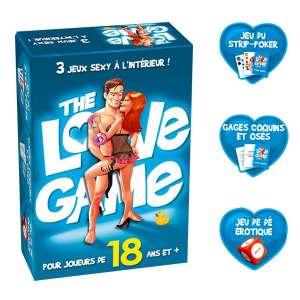Coffret de 3 jeux sexuels jeu coquin, sexy