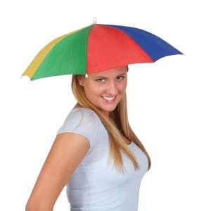 Chapeau parapluie de tête