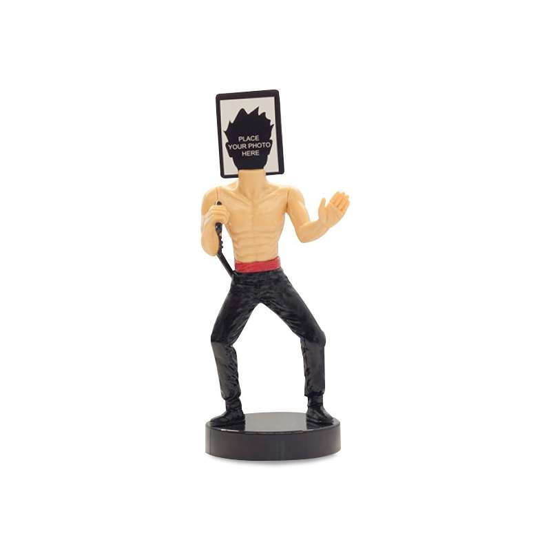 porte photo original be a ninja figurine ninja totalcadeau. Black Bedroom Furniture Sets. Home Design Ideas
