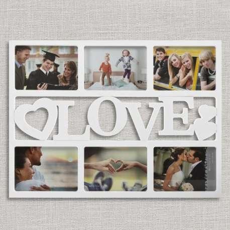 Cadre photo Love romantique amour