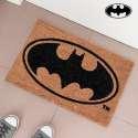 Paillasson tapis d'entrée au logo de Batman