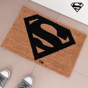 Paillasson superman tapis d'entrée