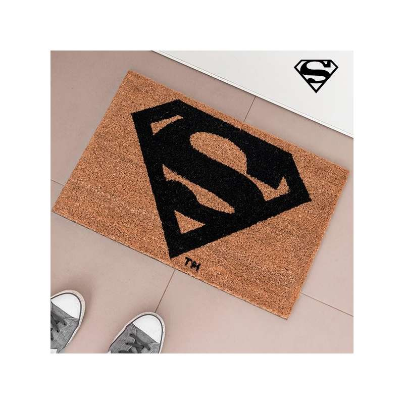 paillasson superman tapis d 39 entr e totalcadeau. Black Bedroom Furniture Sets. Home Design Ideas