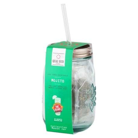 Lot de 12 sachets de thé vert au goût Mojito
